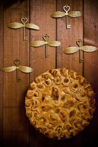 Английский пирог с курицей и ветчиной (из книг о Гарри Поттере)