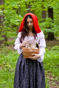 Что несла бабушке Красная Шапочка?