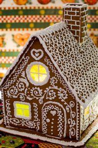 Пряничный домик (братья Гримм. «Гензель и Гретель») + английская коврижка (просто так)