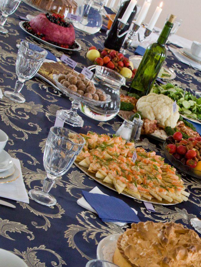 Летний ужин в стиле Джейн Остин: фотоотчёт
