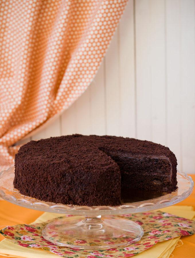 Старомодный шоколадный торт (П. Г. Вудхаус. «Дева в беде»)