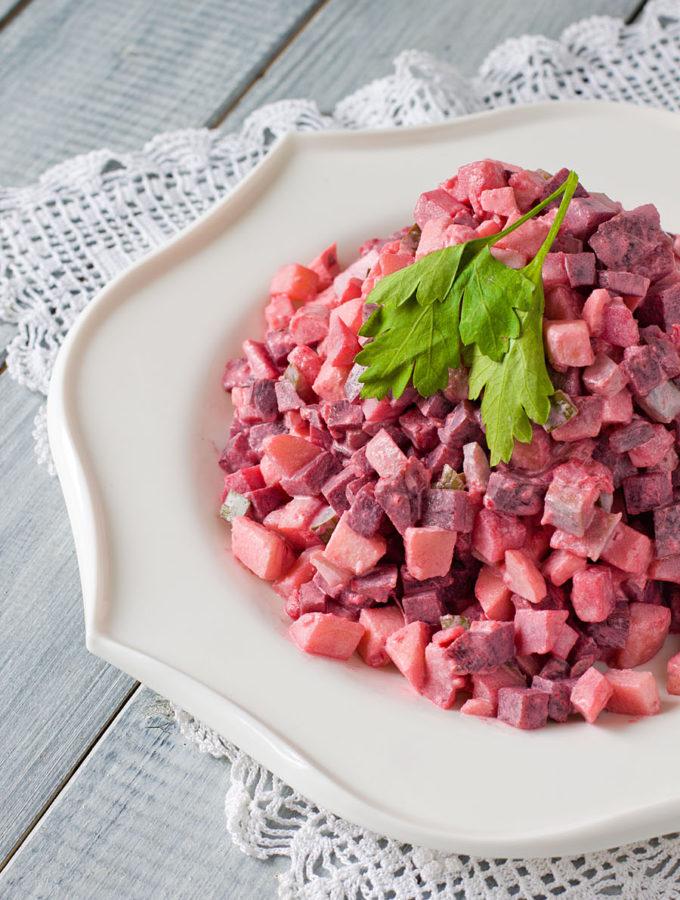 Шведский селёдочный салат (Астрид Линдгрен. «Эмиль из Лённеберги»)