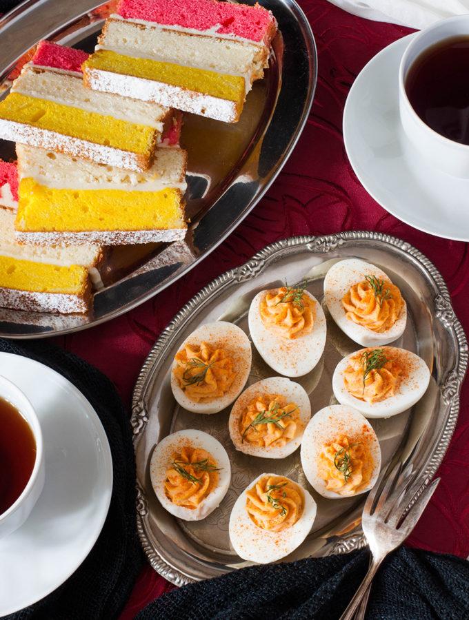 Дьявольские яйца и ангельский торт (Терри Пратчетт и Нил Гейман. «Благие знамения»)