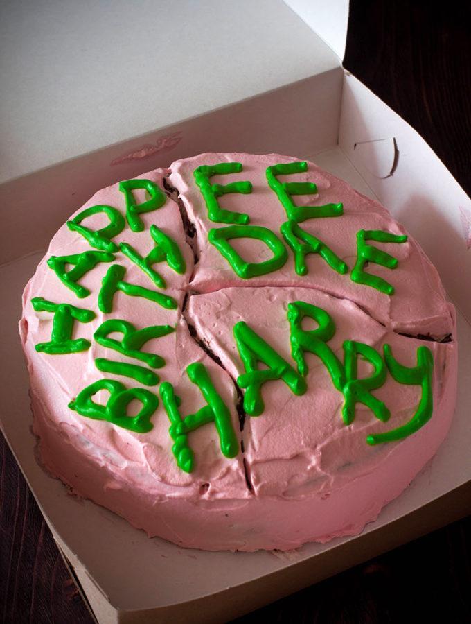 Торт от Хагрида (Джоан Роулинг. «Гарри Поттер и философский камень»)